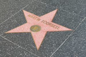 Hollywood Walk Of Fame Star Martin Scorsese